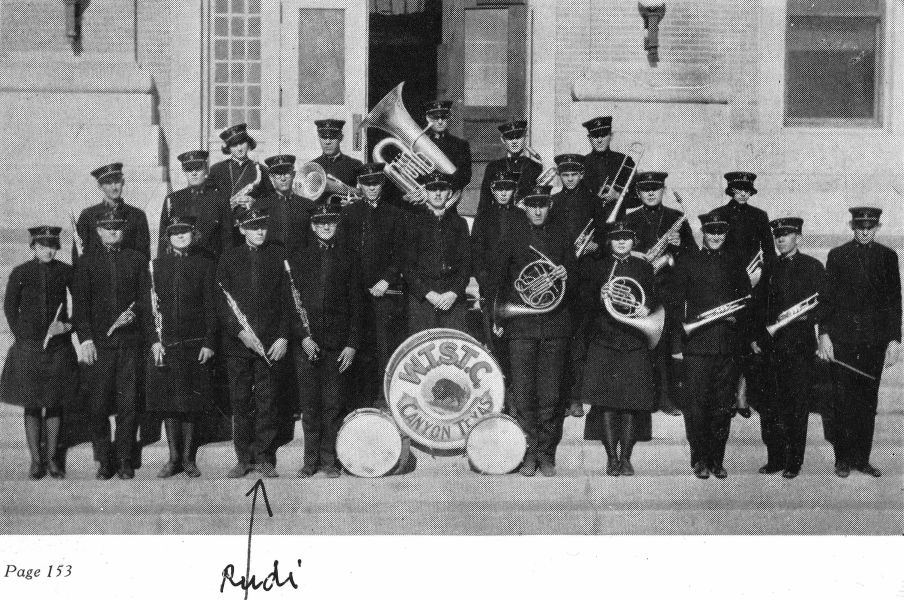 The WTSTC Band, 1927