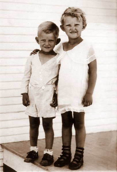 Sherrill and Ewalee in Ingleside, 1931