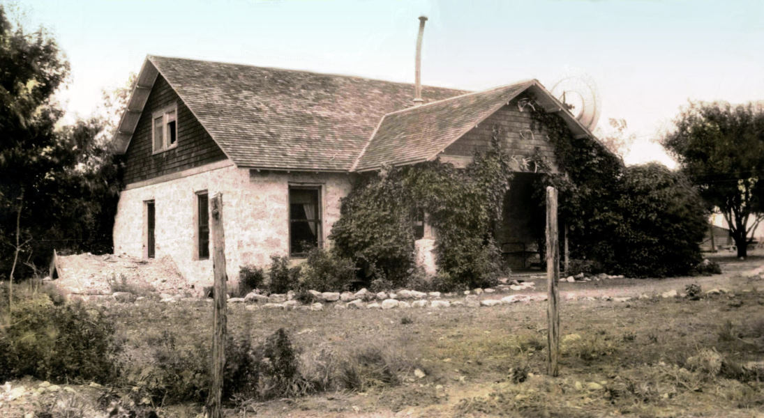 The big ranch house near Tatum, c. 1940