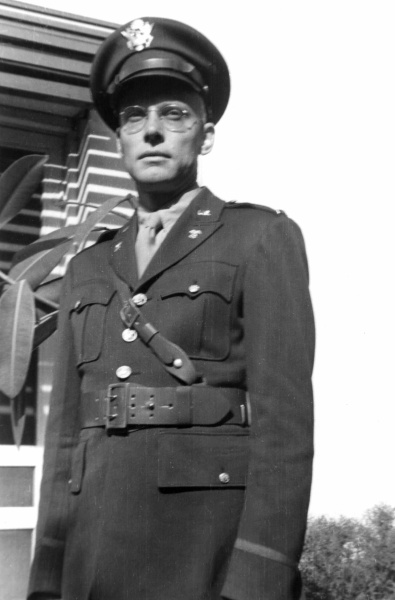 Rudi In uniform, October 1942