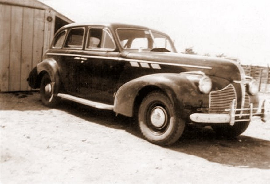 Ewald's Pontiac, August 1946