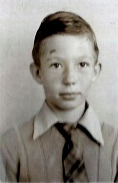 Fred, 1949-50 school picture