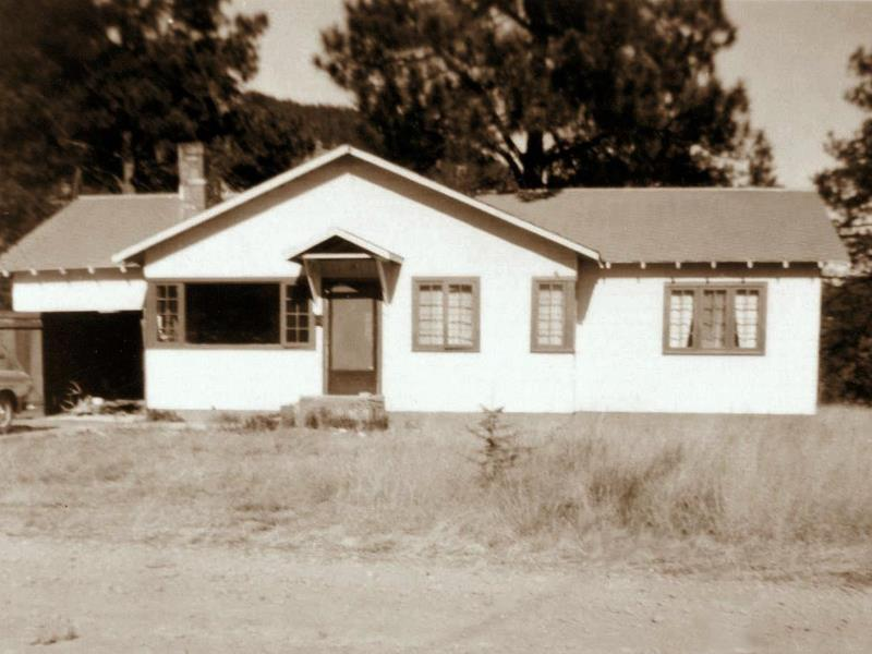 The Ruidoso house built by Marion, October 1950