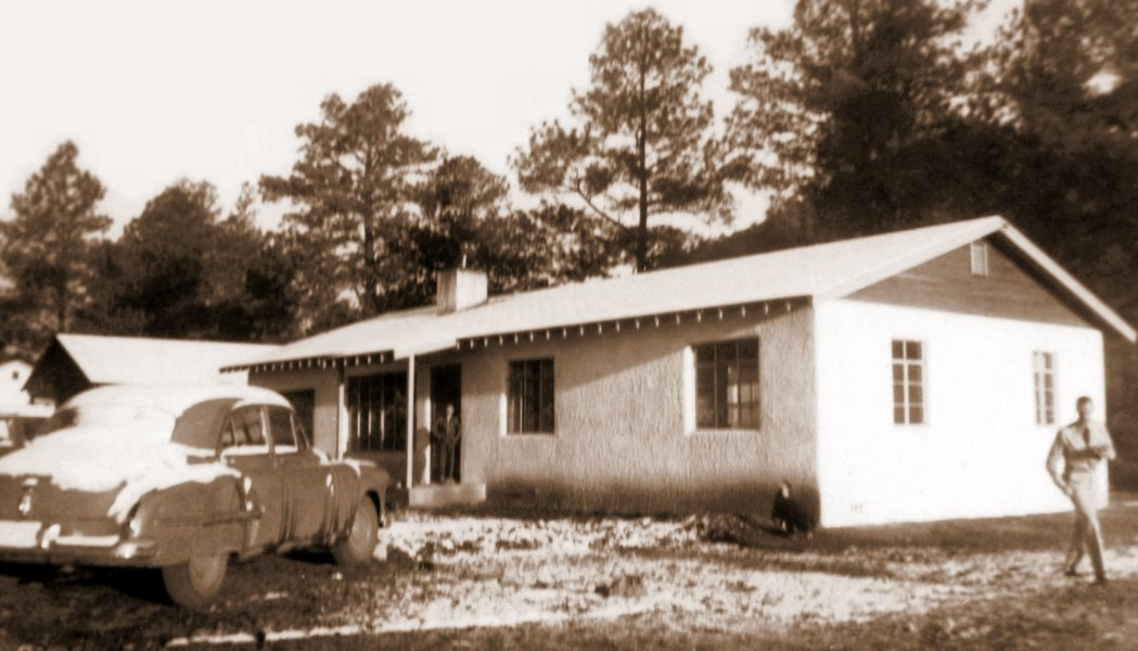 1950s George and Mildred's house in Ruidoso