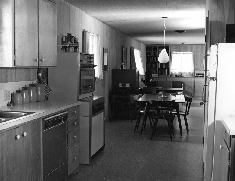 Rudi's kitchen, 1966