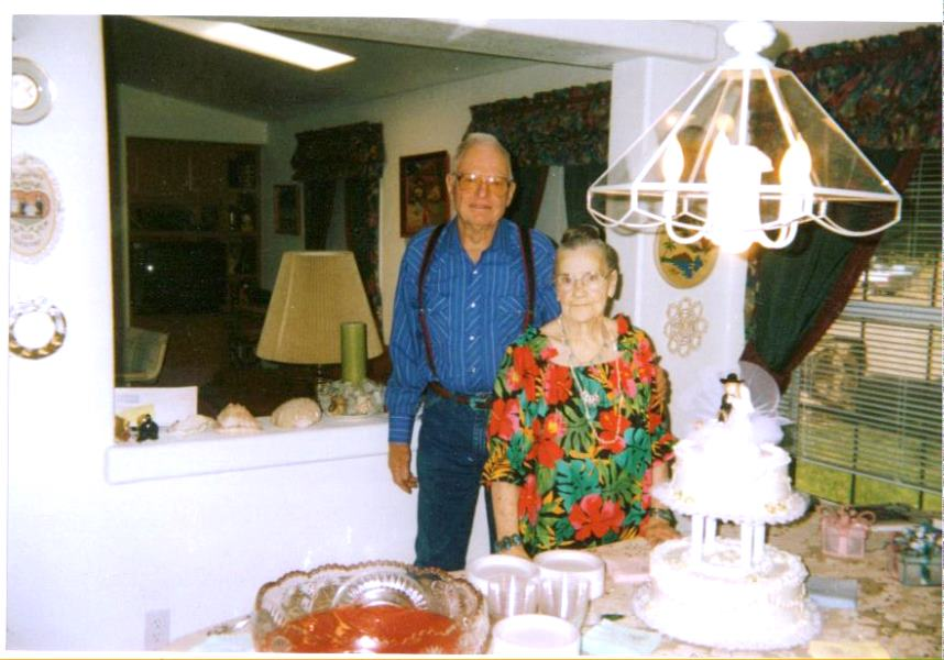 1997-06-01 Georrge and Mildred celebrate their 60th Wedding Anniversary