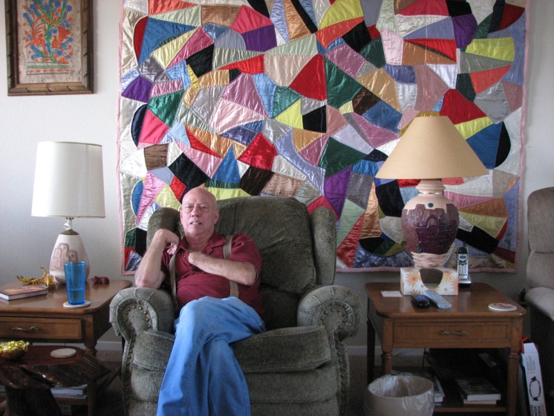 A.J. and Mildred's Crazy Quilt