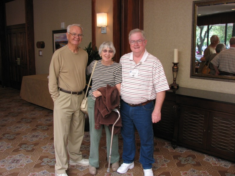 George and Margaret Sutton, Jim Landers (convention co-chair)