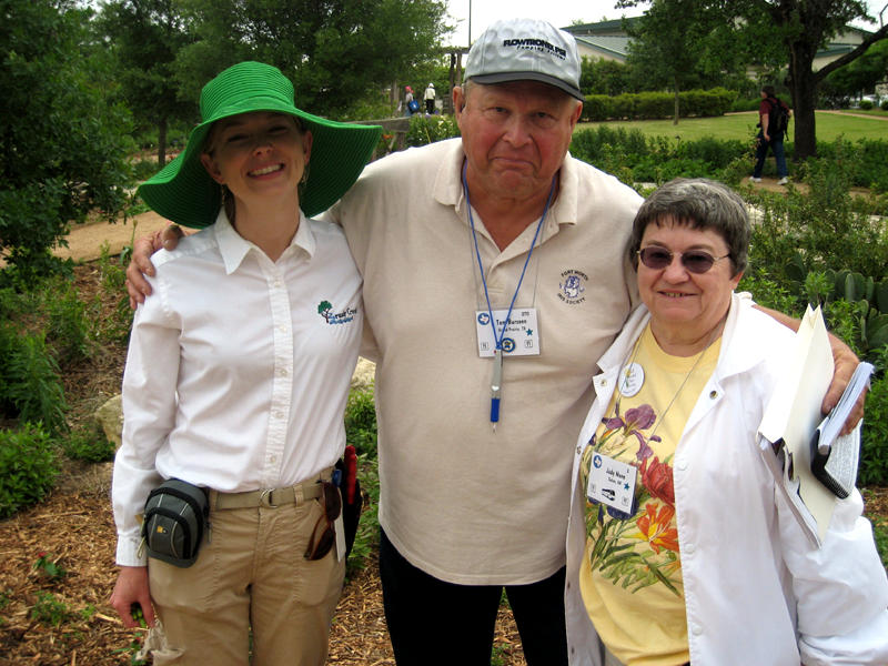 Rachel Hagan, Tom Burseen and Judy Nunn (Photo submitted by Judy Nunn)