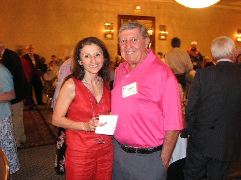 Patricia Colacino and Joe Melomo at the Awards Banquet