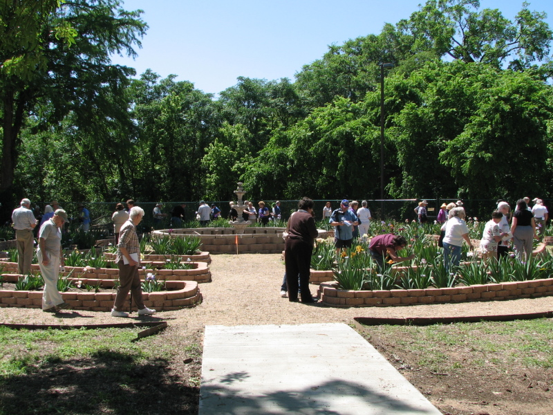 The San Marcos Tourist Information Center Garden