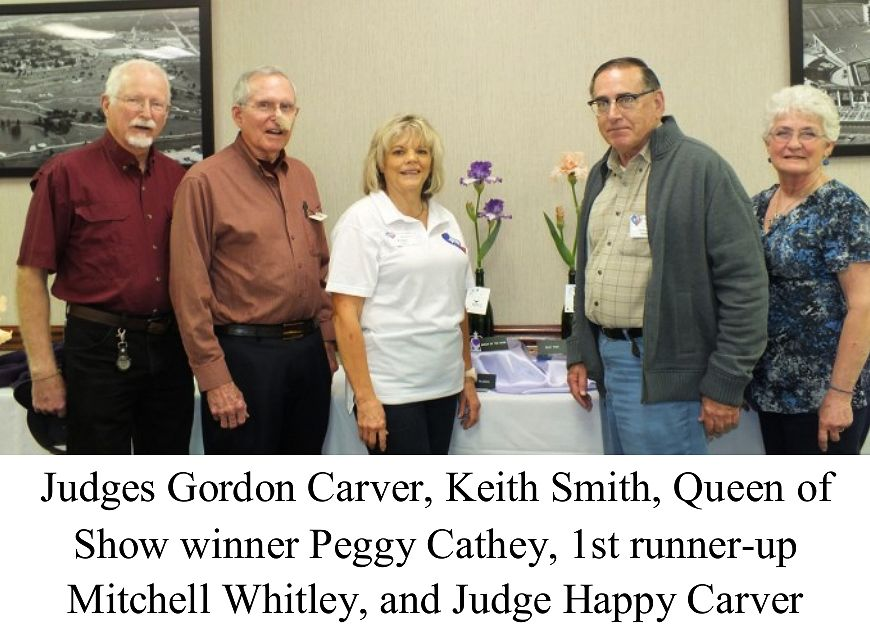 2013 Waco Iris Show Judges