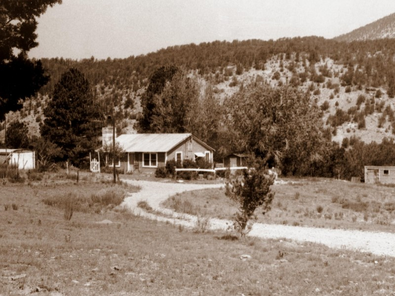 The old farm, July 1972