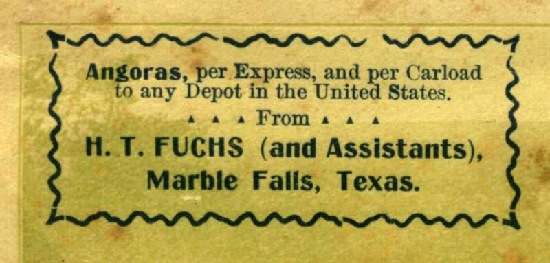 H. T. Fuchs  business envelope