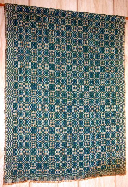 Wall hanging - turquoise design